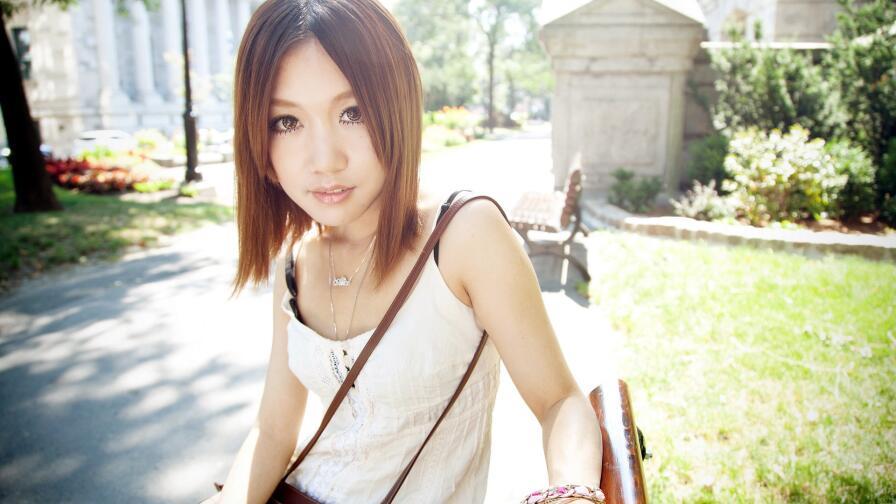 Asian Brunette Teen Girl Wallpaper #576 - Wallpaper