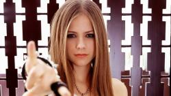 Avril Ramona Lavigne Canadian Singer Celebrity Girl Wallpaper #002