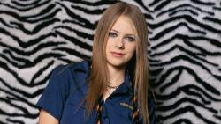 Avril Ramona Lavigne Canadian Singer Celebrity Girl Wallpaper #004