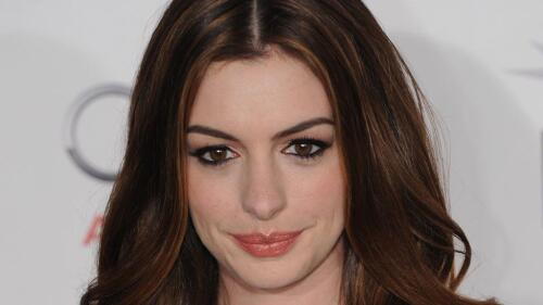 Beautiful Anne Hathaway American Actress Celebrity Wallpaper #082
