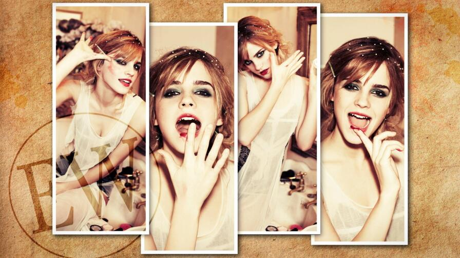 Beautiful Emma Watson English Actress Celebrity Wallpaper #484