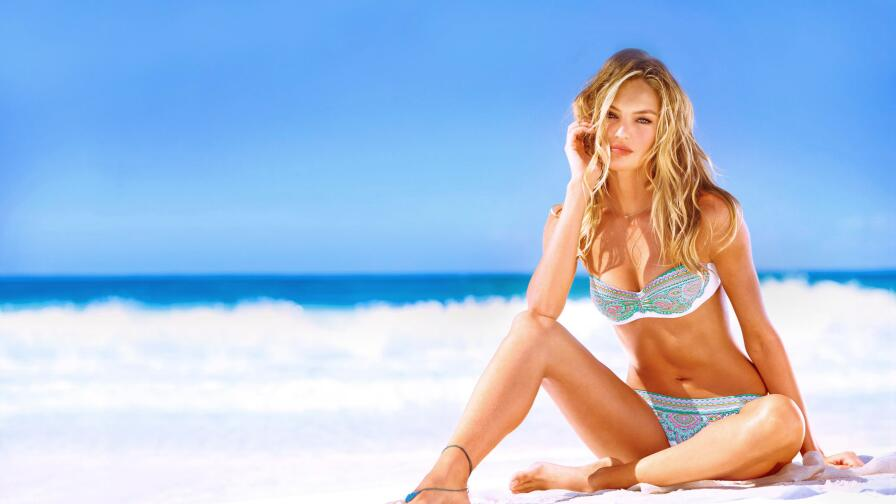 Candice Swanepoel South African Model Girl Wallpaper #015