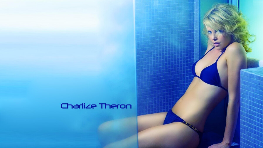 Charlize Theron South African American Actress Celebrity Girl Wallpaper #001