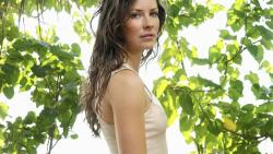 Evangeline Lilly Canadian Actress Celebrity Wallpaper #004