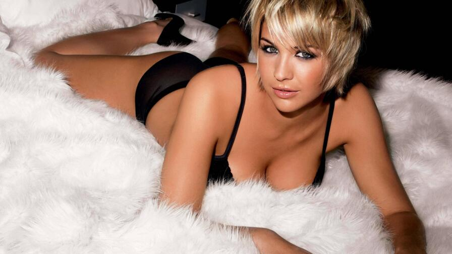 Sensual Babe Gemma Atkinson Hot Blonde English Model Girl Wallpaper #020